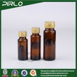 20ml 30ml 50ml de Amber/Bruine Fles van het Glas van de Geneeskunde Amber Mondelinge Vloeibare met Fles van het Glas van het Deksel van de Schroef van het Aluminium de Farmaceutische Vloeibare