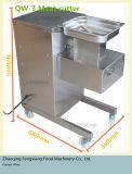 Mini type trancheuse de viande fraîche, coupeur de viande (QW-3) d'automatisation