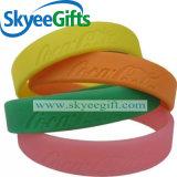Wristband su ordinazione del silicone del regalo di natale