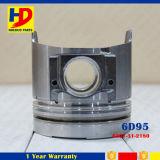 Pistón de PC200-6 6D95 (6202-31-2130) para las piezas del motor diesel del excavador