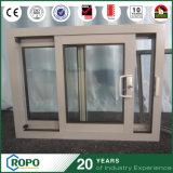 Glace en aluminium extérieure moderne Windows coulissant avec l'écran d'insecte