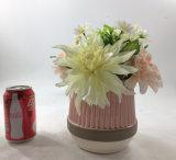 Bonsai di ceramica dei fiori artificiali di grande formato