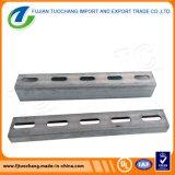 Manica d'acciaio galvanizzata supporto perforato