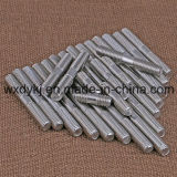 Fábrica do parafuso prisioneiro da extremidade do dobro de Rod da linha da ferragem do aço inoxidável de China Uni 5911