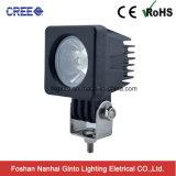 Luz cuadrada portable del trabajo de Ginto mini 10W 2inch LED (GT1023C-10W)