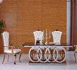 4 연회를 위한 반지 모양 10 Seater 대리석 식탁