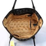 方法PU革Mkの印刷デザイナー女性のトートバックのハンドバッグ