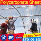 Corrugated лист поликарбоната для крыши как заволакивание солнечности