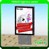 Het scrollen van lightbox-Adverterende materiaal-Lichte Doos teken-Mupis