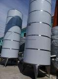 Большой напольный бак для хранения нержавеющей стали