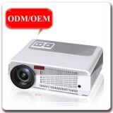 1280*800 conectan el proyector de película casero superior de los juegos video 3D del LCD LED del rectángulo de la TV