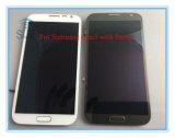 Samsung Note2のための携帯電話LCDスクリーン表示アセンブリ