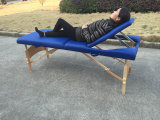 Tabla de madera del masaje, cama de masaje de madera y la tabla de belleza