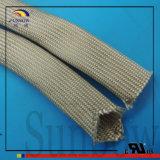 ISOの9001:2008の3Dプリンターのための標準工場直接販売の白いガラス繊維の編みこみのワイヤー絶縁体の袖を使って
