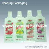 Пластичный двойной мешок упаковывать молока Gusset