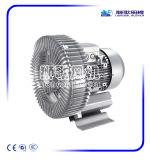 Ventilador de canal lateral para máquina auxiliar de plástico