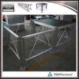 Piattaforma portatile di alluminio esterna della fase di migliore vendita