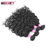 Vende por atacado tecelagem peruana não processada do cabelo humano de Remy do Virgin de 100%