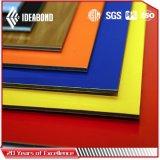 Nuevo alto revestimiento brillante diseñado de la pared de cortina del ACP para la decoración exterior