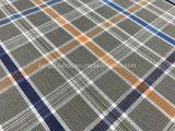 Algodón teñido hilado Fabric-Lz7492 mezclado Tencel