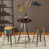 (SP-BT704) Tableau de cocktail en bois rond de meubles de Bistros de barre premier