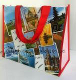 Sacchetto di acquisto tessuto pp, sacchetto di Tote
