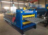 Roulis en acier de feuille de toiture d'Ibr de trois couches formant la machine