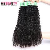 100% Mink Hair Weaving Virgin Cheveux humains brésiliens