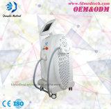 Máquina vertical rapidamente Painless do uso da clínica da remoção do cabelo do laser do diodo 808nm