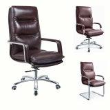 Mobília de escritório executiva da cadeira da saliência de couro por atacado nova