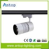 Lumière blanche et noire de qualité de DEL vers le bas de tube de piste avec le TUV