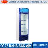 Einzelne Glastür-aufrechter Kühlraum-Schaukasten