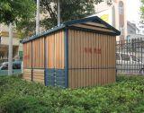 Composto plástico de madeira, casa de WPC