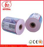 Rollo de papel térmico de alta impresión en blanco