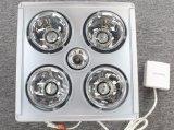 Aquecedor de banheiro / parede montada 4 lâmpadas aquecedor dourado de infravermelhos
