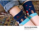 chaussettes de coton de l'hiver de gosse de saison de Noël/chaussettes d'étage