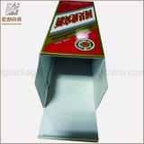 Boîte-cadeau de papier de luxe personnalisée de tube