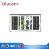 Guangzhou-thermischer Bruch-schiebendes Aluminiumfenster mit Ineinander greifen