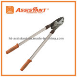Teflon Coated Lopping Shears Drop Forged Pruning Gear Anvil Loppers
