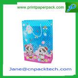 A annoncé le sac promotionnel de achat estampé de papier de carton de sacs de mode