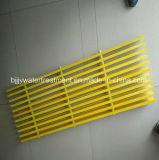 Fibra de vidrio de Pultruded FRP/GRP que ralla con el precio bajo