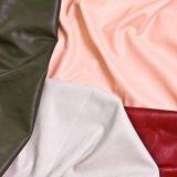 O couro do plutônio da alta qualidade para o saco calç a mobília