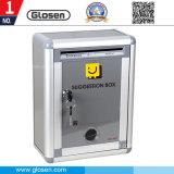 A caixa pequena a mais barata de Suggetion do metal do tamanho para o governo e o hospital