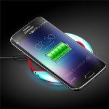 Cargador sin hilos de la fuente de alimentación del móvil de Qi para el iPhone de Samsung LG