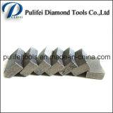 Scherpe Segment van de Diamant van het Graniet van de Laag van het Type van sandwich het Multi Marmeren
