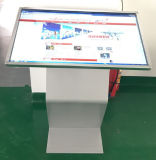 Un pavimento da 43 pollici che si leva in piedi il comitato dell'affissione a cristalli liquidi/il chiosco dello schermo tocco riproduttore video/dello schermo attivabile al tatto