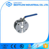 Valvola a sfera del migliore acciaio al carbonio di vendita 2PC/acciaio inossidabile
