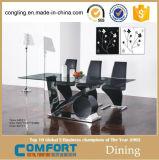現代モデルガラスダイニングテーブルデザイン家具