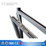 Ventana de inclinación y giro de aluminio con bisagras