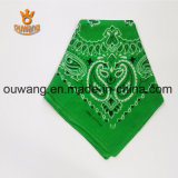 "Fashion Paisley Handkerchief Multifunctional Magic Bandana 100% coton 22 ""* 22"" Cadeau promotionnel personnalisé"